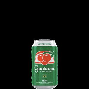 Refrigerante GUARANÁ ANTARCTICA sem açucar Lata 350ml