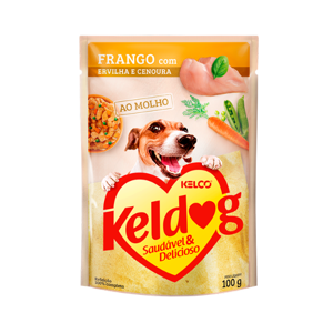 Ração Cão Keldog 100G Ao Molho Fr/Erv/Cen