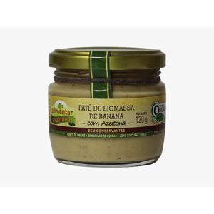 Patê de Biomassa de Banana Verde com AZEITONA - 120g