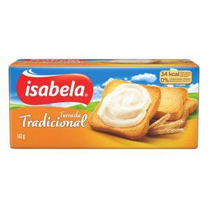 Torrada Tradicional Isabela Pacote 142g