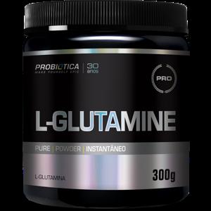 Glutamina Probiótica Sem Sabor 300G
