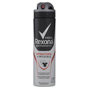Desodorante Aerosol 150ml Rexona Masculino Antibacterial e Invisible
