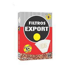 Filtros de Papel Export 102 Caixa com 30 Unidades