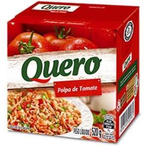 Polpa de Tomate QUERO Caixinha 520g