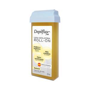 Cera p/ depilar corporal Refil 100Gr Depiflax Natural