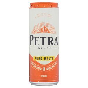 Cerveja American Lager Puro Malte Petra Origem Lata 350ml