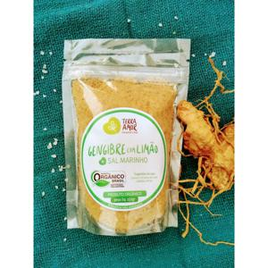 Sal de ervas orgânico - Gengibre & Limão - 150g