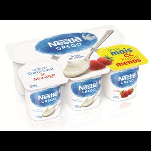 Iogurte Nestle 600G Grego Tradic/Mor