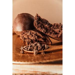 Ovo de chocolate blend com recheio de Croc e Brownie - 500g