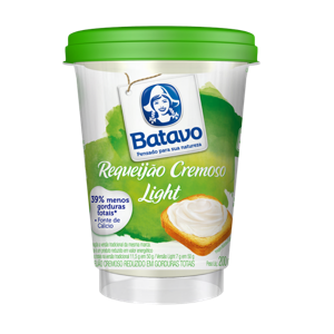 Requeijão BATAVO Light 200g