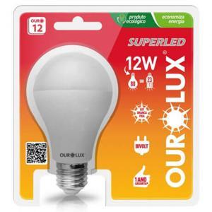 Lampada OUROLUX Superled 12W Bivolt 6500K