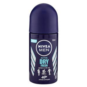 Antitranspirante Roll-On Nivea Men Active Dry Fresh 50ml