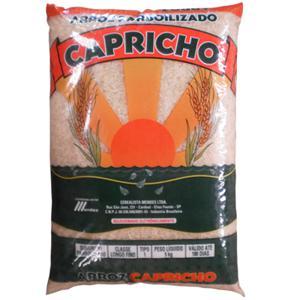 Arroz Capricho Parboilizado Pacote 5kg