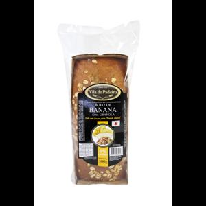 Bolo de Banana com Granola Vila de Padeiro 300g