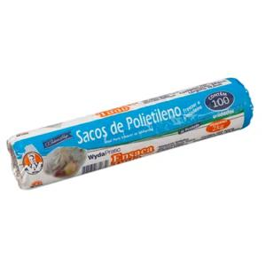 Sacos Para Alimentos Freezer Wyda 2Kg pacote com 50 Unidades