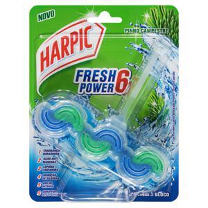 Detergente Sanitário Bloco Pinho Campestre Harpic Fresh Power 6