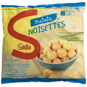 Batata Noisette Pre Frita Sadia Cong 400G