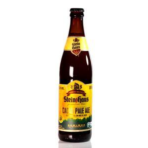 Cerveja Cacau Pale Ale Orgânica 500ml - Stein Haus