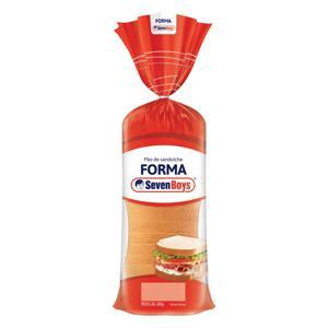 Pão de Forma Seven Boys Pacote 450g
