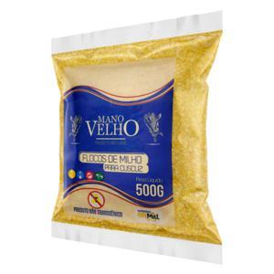 Flocão de Milho para Cuscuz Mano Velho Pacote 500g