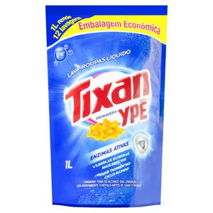 Lava-Roupas Líquido Primavera Tixan Ypê Sachê 1l Embalagem Econômica