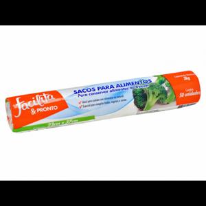 Saco para Alimentos Facilita & Pronto 3kg