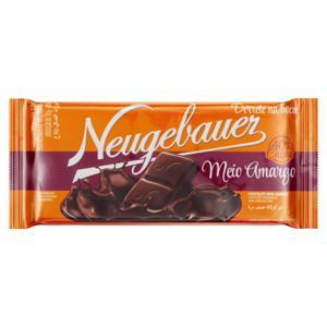 Chocolate Meio Amargo 40% Cacau Neugebauer Pacote 90g