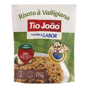 Risoto Semipronto Valligiana Tio João Cozinha & Sabor Sachê 175g