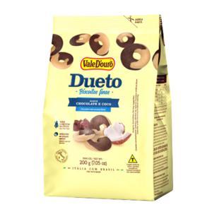 Biscoito Fino Dueto Vale Douro Chocolate/Coco  200G