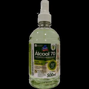 Álcool Soft 70% Spray 500ml Bambu