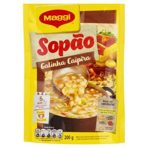 Sopão Galinha Caipira Maggi Pacote 200g