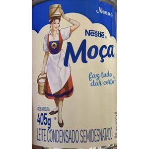Leite Condensado Nestlé 405G Moça Semi Desnatado Lata