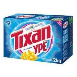 Detergente em Pó Tixan 2Kg Primavera Cartucho (Exclusivo Campelo Online)