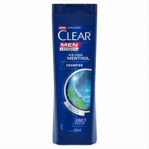 Shampoo 400ml Clear anti-caspa Ice cool menthol