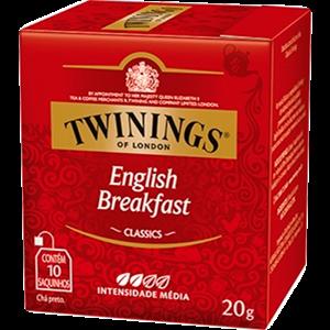 Chá Preto Twinings English Breakfast 10 Envelopes