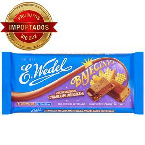 Chocolate Polonês Ao Leite E.Wedel c/ Amendoim e Waffer 100G
