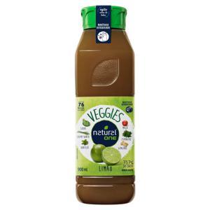 Bebida Mista Limão Natural One Veggies Refrigerado Garrafa 900ml
