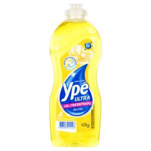 Detergente Ultra Gel Concentrado Neutro Ypê Frasco 416g