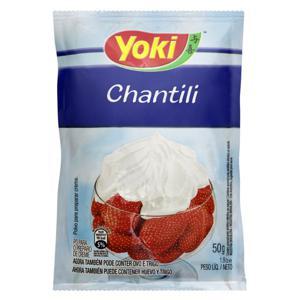Chantilly em Pó Yoki Pacote 50g