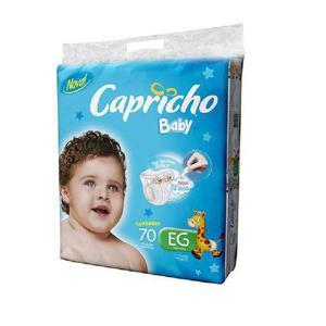 Fralda CAPRICHO BABY Super Jumbo XG com 70 Unidades