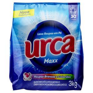 Lava-Roupas em Pó Urca Maxx Pacote 3kg