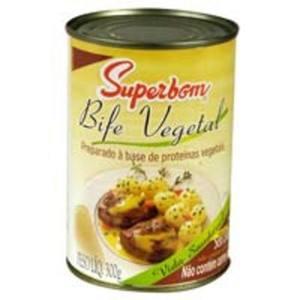 Bife Vegetal SUPERBOM 300g