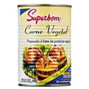 Carne Vegetal SUPERBOM 400g
