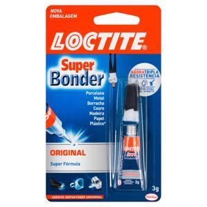 Adesivo Instantâneo Universal Original Loctite Super Bonder Blister 3g