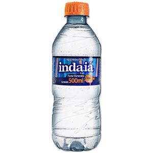 Água Mineral INDAIA Com Gás 500ml