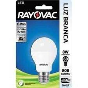 Lâmpada LED RAYOVAC 8W