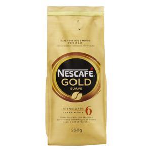 Café Torrado e Moído Suave Nescafé Gold Pacote 250g