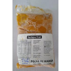 Polpa de Manga Ubá Agroecológica 250g - Fortuna Frut