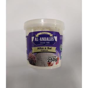 Tempero Alho e Sal Orgânico 250g - Al Andalus