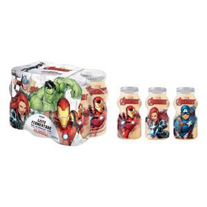 Pack Leite Fermentado Desnatado Baunilha Avengers Danone Frasco 450g 6 Unidades